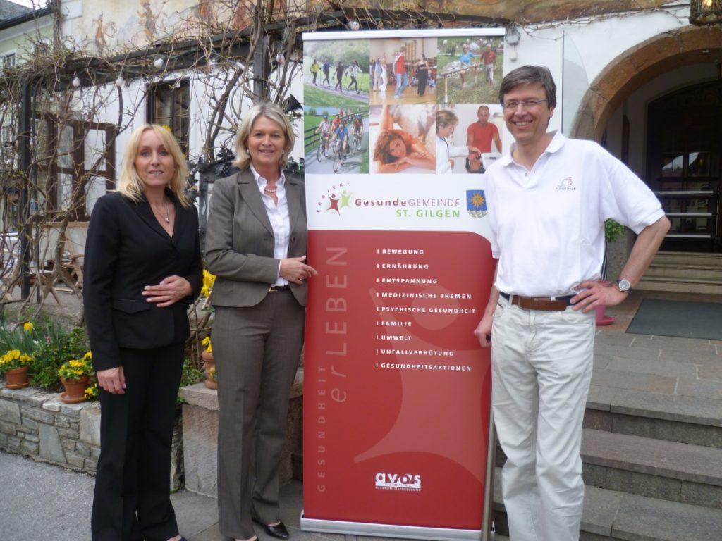 Organisatoren Brigitte Reiff, Dagmar Wintermayr und Dr. Peter Kowatsch