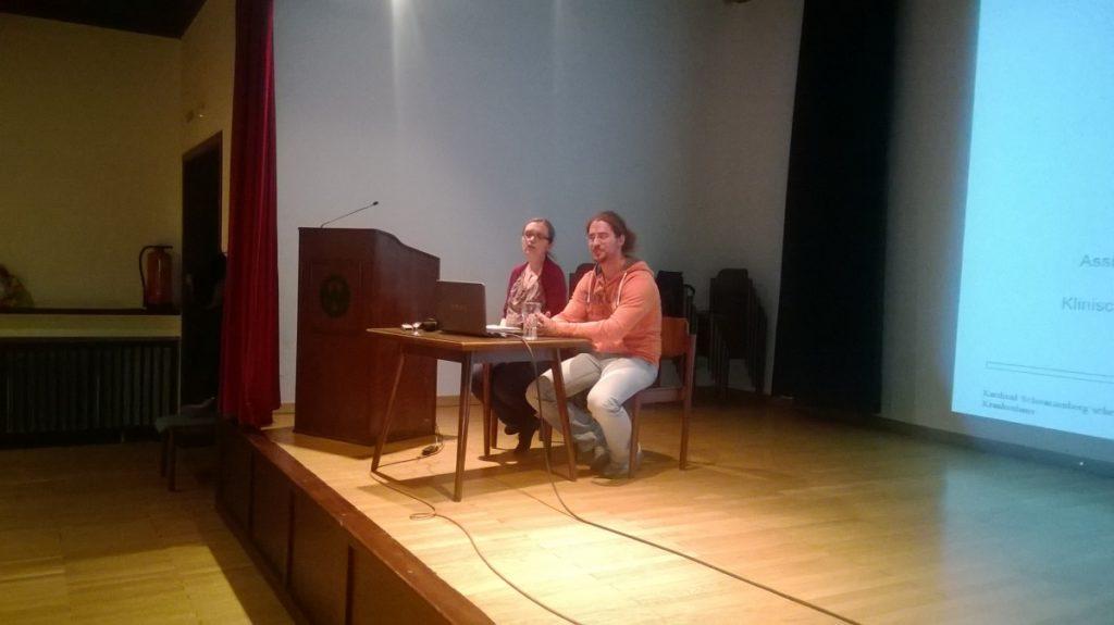 Hr. Dr. Bernd Müller und Fr. Mag. Simone Raab