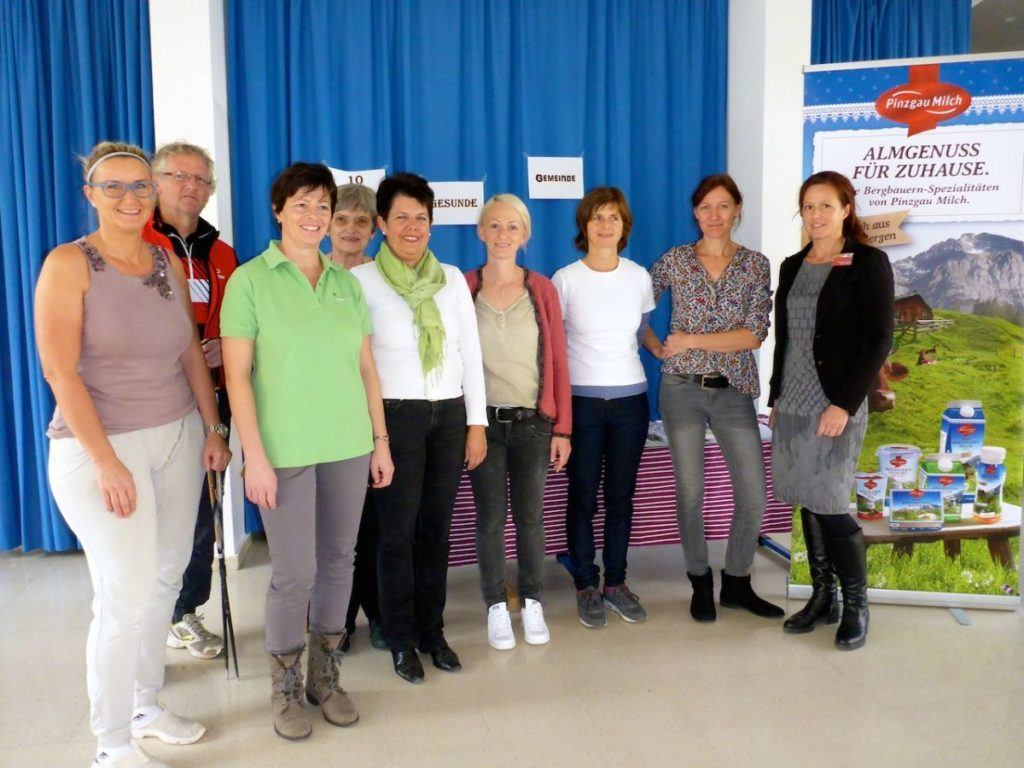 Das Gesunde Gemeinde Team und die ReferentInnen