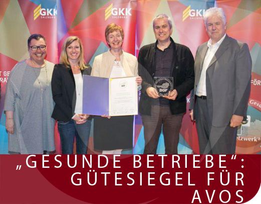 v.l.: Gesundheitsministerin Dr. Sabine Oberhauser, Mag. Sandra Kröll, Astrid Lindner und Mag. Dr. Thomas Diller, alle AVOS, SGKK-Obmann Andreas Huss
