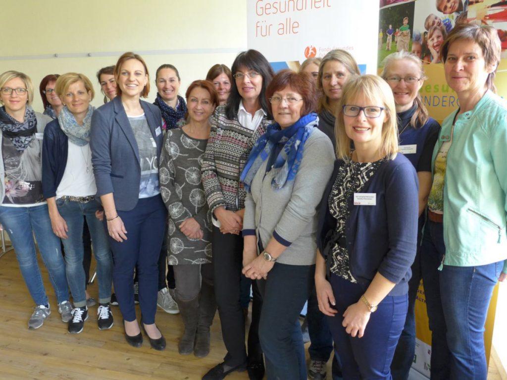 Tagung Gesundheitsbeautragte Gesunder Kindergarten Land Salzburg
