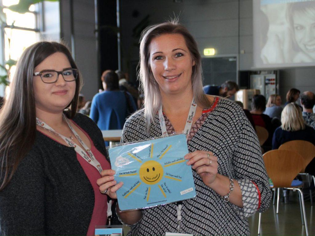 Erfolg für die LehrerInnen-Gesundheit! Organisatorin Alexandra Eder freut sich.
